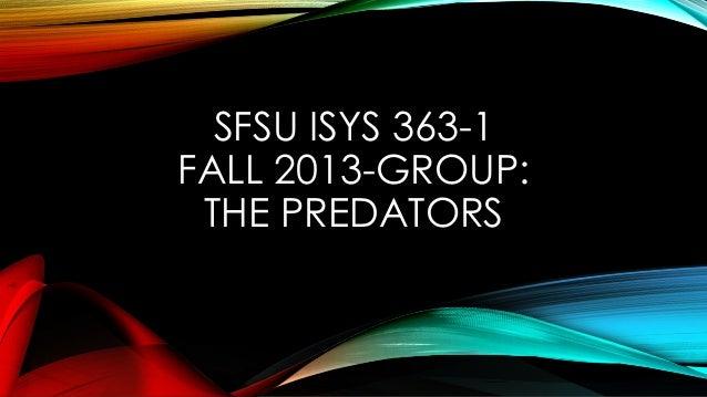 Part 1   group project The Predators
