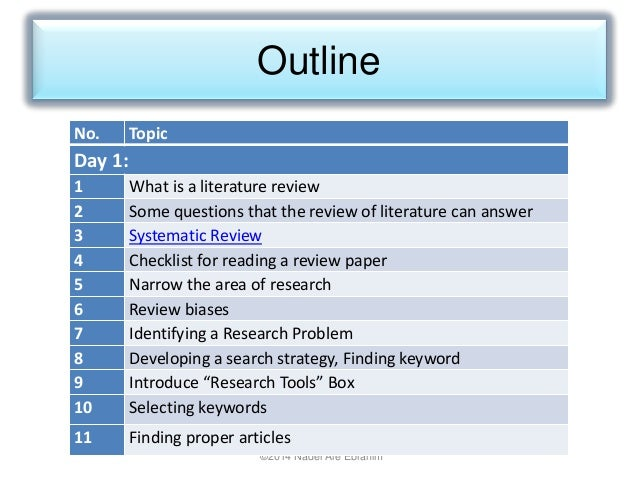 Systematic reviews. Some examples.