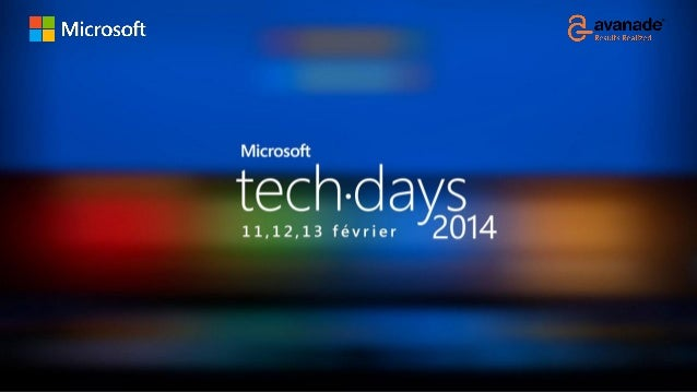 Décideurs Informatiques Migration vers Windows 7/8 Ciel… mes applications ! Serge-Michel SAINTE-ROSE Avanade Infrastructur...