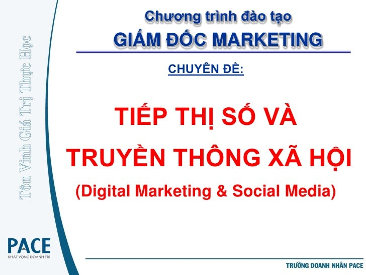 PACE CMO - Part1 - Internet Marketing & Social Marketing Introduction