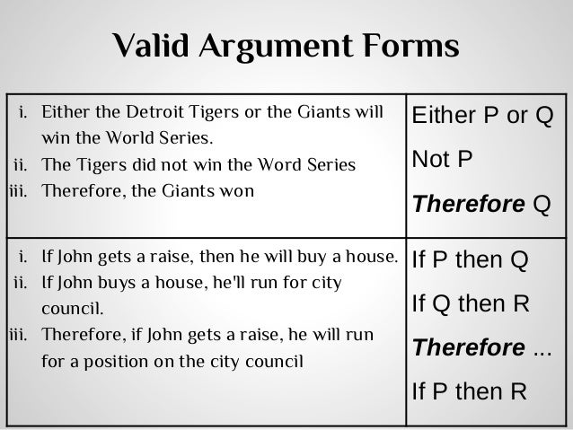 Are these arguments Valid? Please explain.?