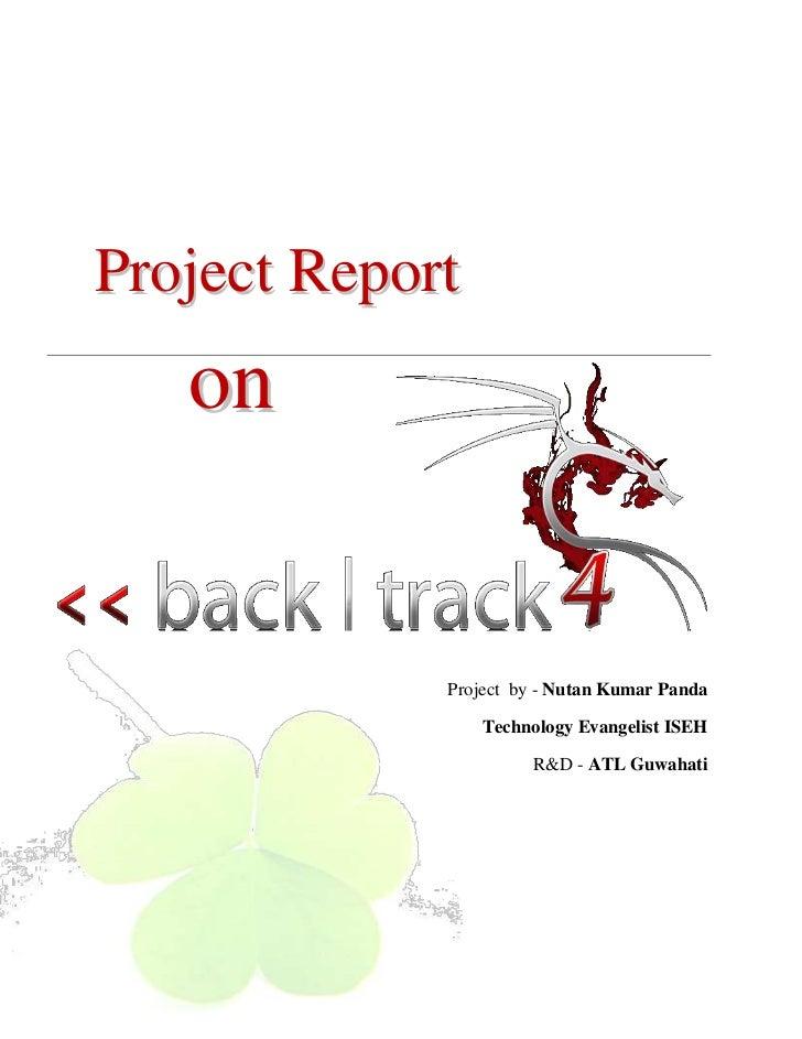 Project Report              on                                Project by - Nutan Kumar Panda                              ...