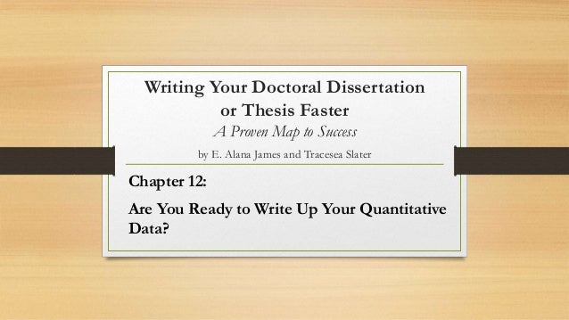 Descriptive statistics in dissertation