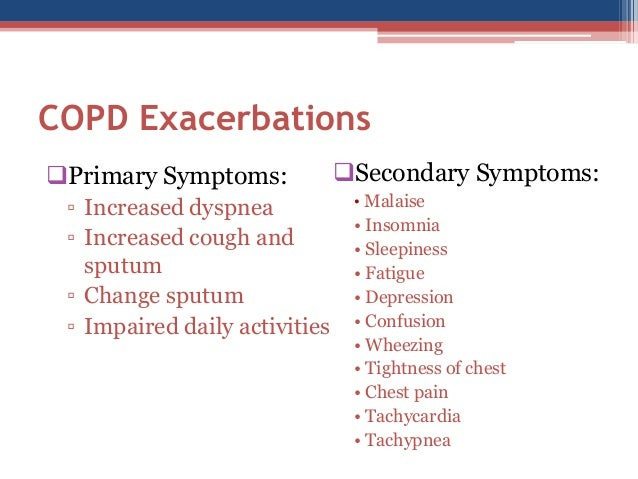COPD and the Risk of Depression