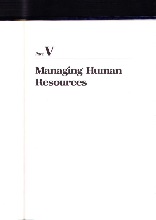 PartvManaging l{urnanResources