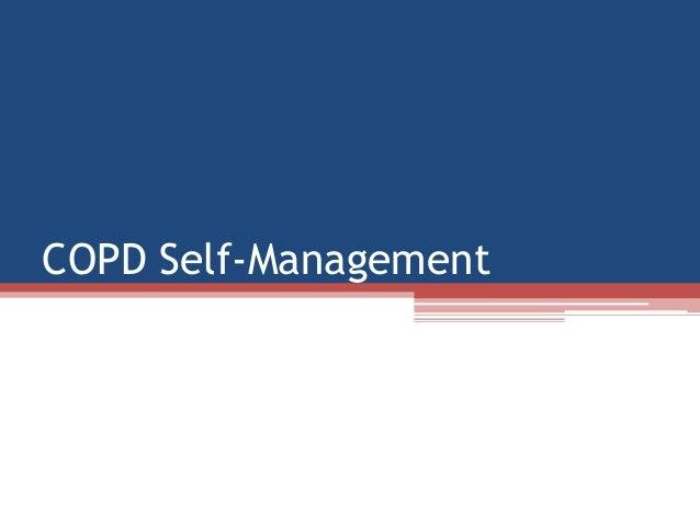 COPD Self-Management