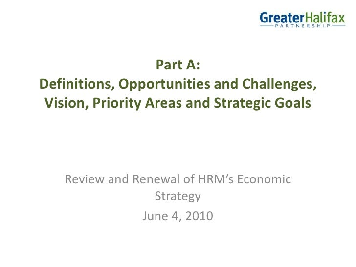 Greater Halifax - Economic Strategy Renewal