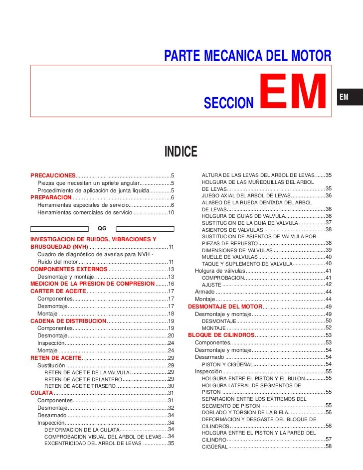 PARTE MECANICA DEL MOTOR                                                                                              SECC...