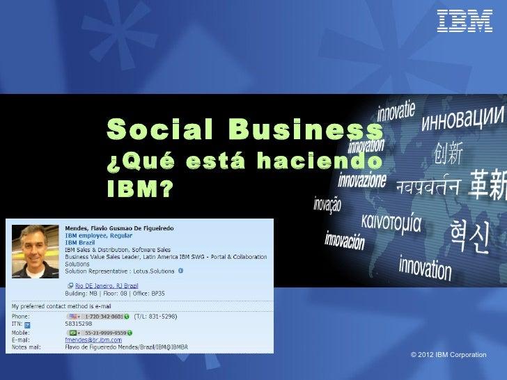 Parte 1   20120417 o que e social business e ib mppt