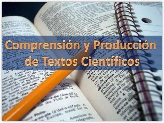 1. Importancia de la comprensión y producción de textos enestudiantes de la Facultad de Ciencias Químico Biológicas.   2. ...