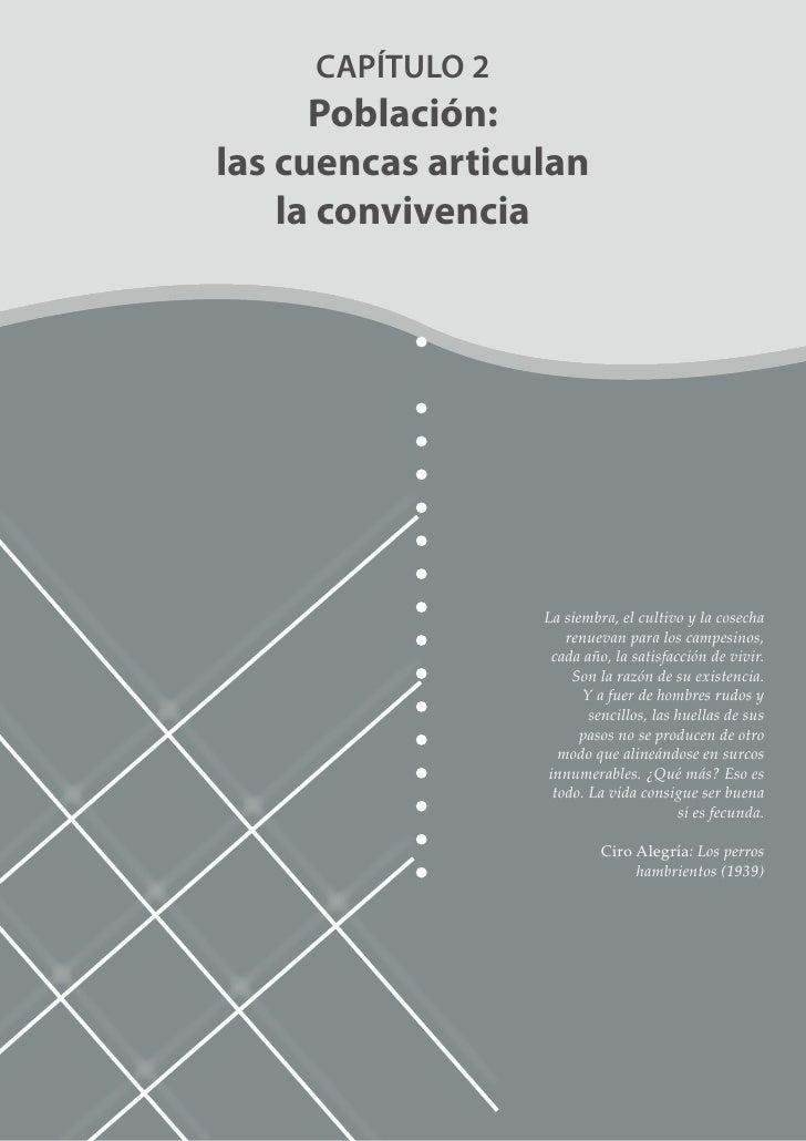 Parte 2: Capítulo 2: Población las Cuencas Articulan la Convivencia