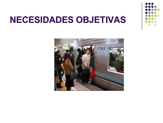NECESIDADES OBJETIVAS