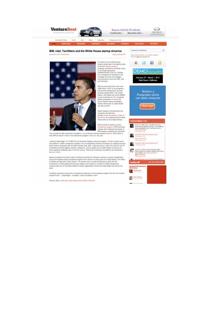 Okuri Ventures & Tetuan Valley - Menciones en medios Feb2011