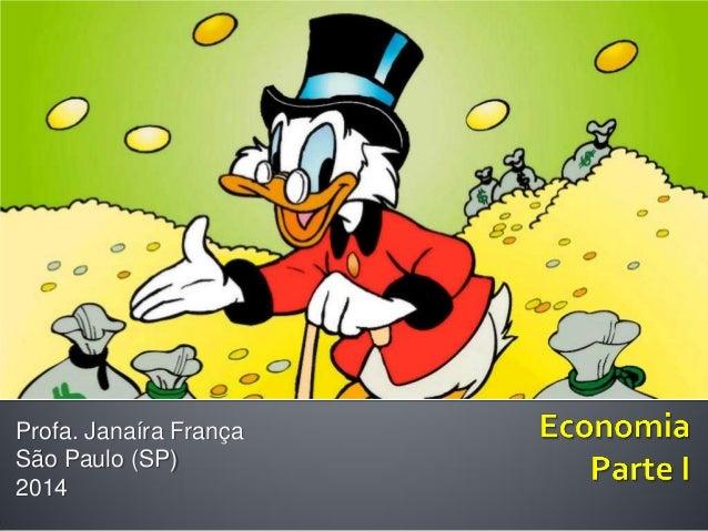 Economia - Introdução para Publicitários by Janaira Franca