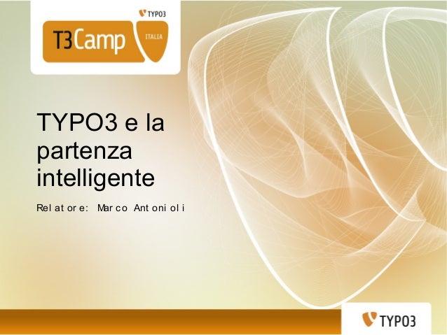 TYPO3 e la partenza intelligente. Familiarizzare con l'ambiente e lo strumento per raggiungere il successo nei progetti. Requisiti di base, installazione, configurazione e letteratura