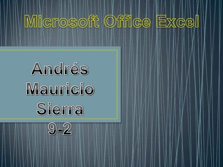Microsoft Excel es una aplicación para manejar hojas de cálculo. Esteprograma es desarrollado y distribuido por Microsoft,...