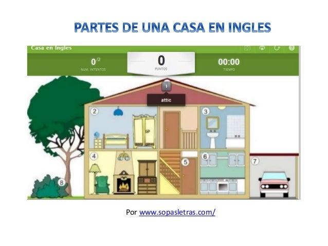 Partes de una casa en ingl s - Casas en ingles ...