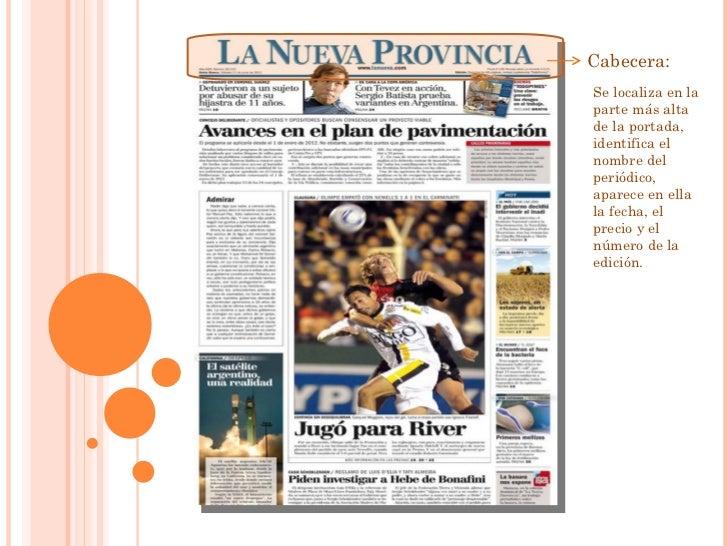 Partes de una noticia for Cuales son las partes de un periodico mural