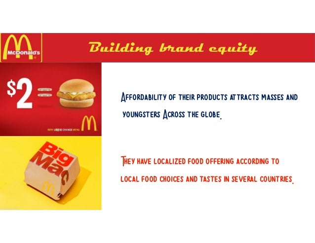 mcdonald s case study case 14 Mcdonald's case study alejandro garcia fabrizio fornelli jenny eisold brandon straus introduction fast food company number of stores: 32,737 (march 2011.