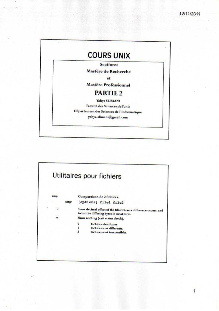 Parti 2 utilitaires pour fichiers