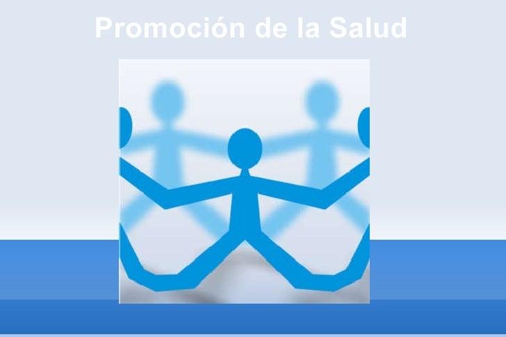 Participación y Promoción de Salud