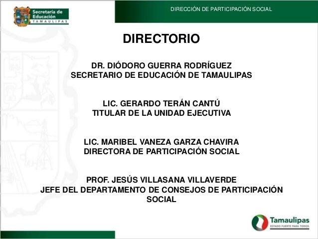 Participacion social 2013- 2014