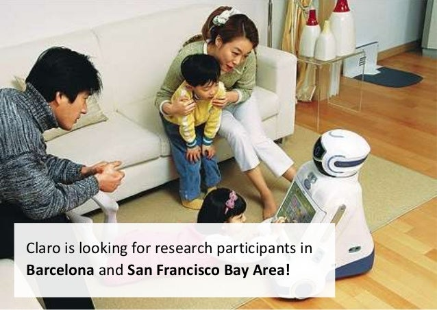 Call for Participation: Research in Barcelona and SF Bay Area