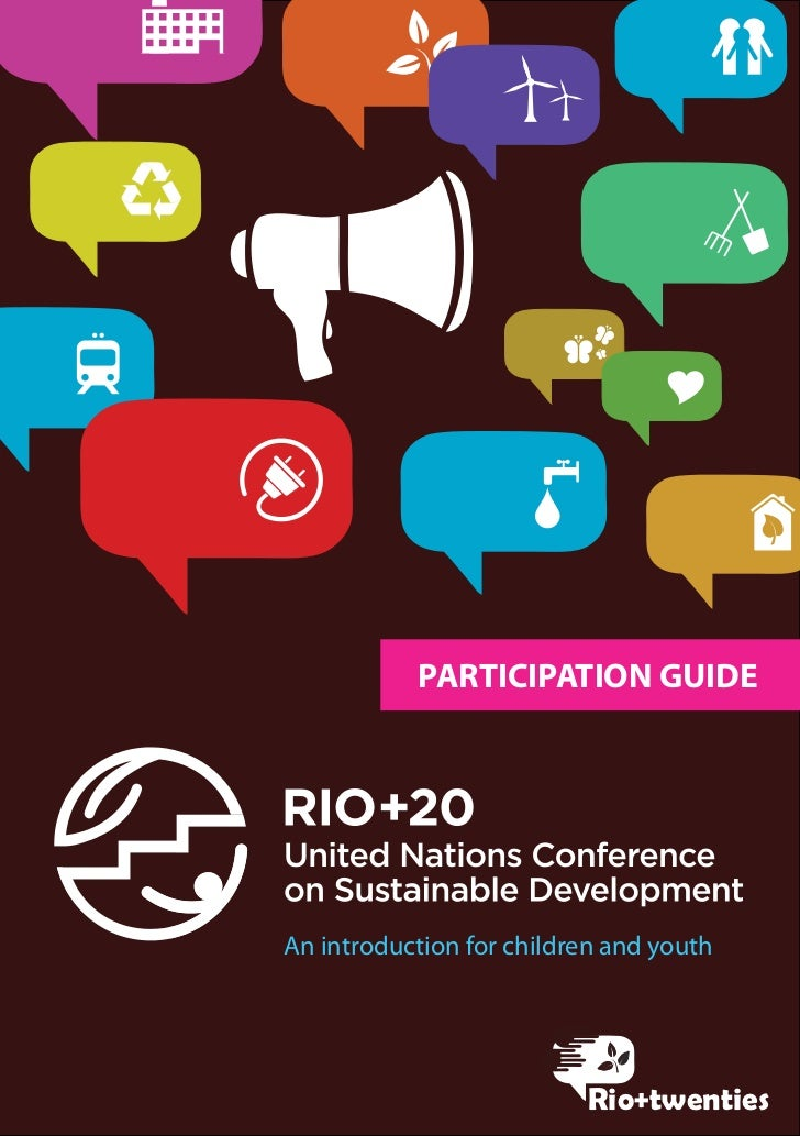 PARTICIPATION GUIDEAn introduction for children and youth                          Rio+twenties