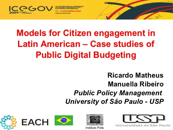 Digital Participatory Budgeting in Latin America
