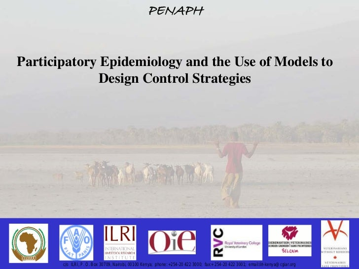Participatory epidemiology and the use of models to design control strategies