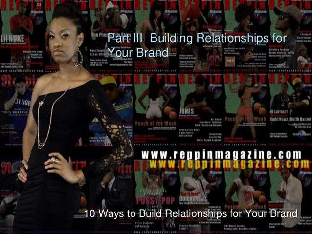 Part III Building Relationships for Your Brand