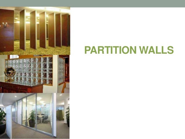 partition walls On partition wall agreement