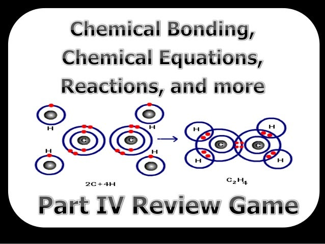 Chemical Bonding, Balancing Chemical Equations, Reactions Quiz Game