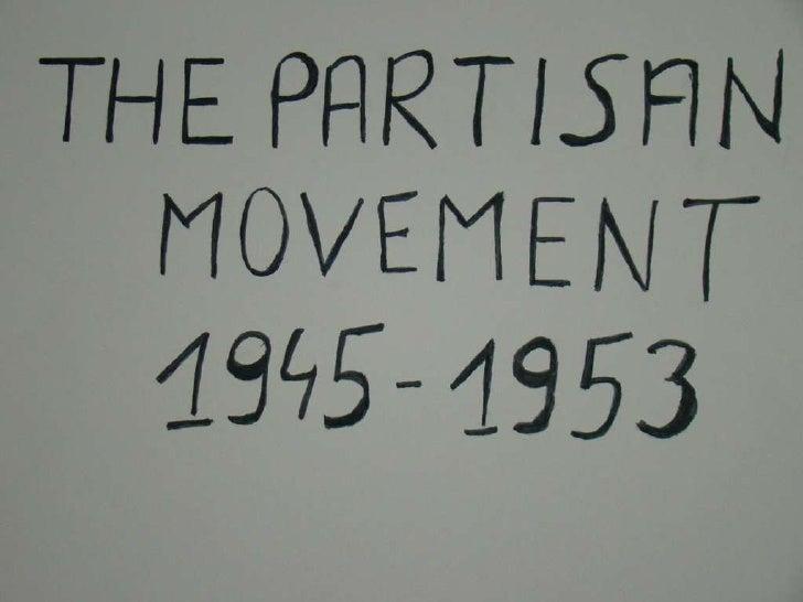 Partizan movement