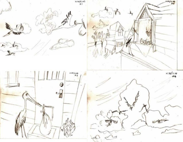 Partly Cloudy Pixar Short Film - Reverse Storyboard