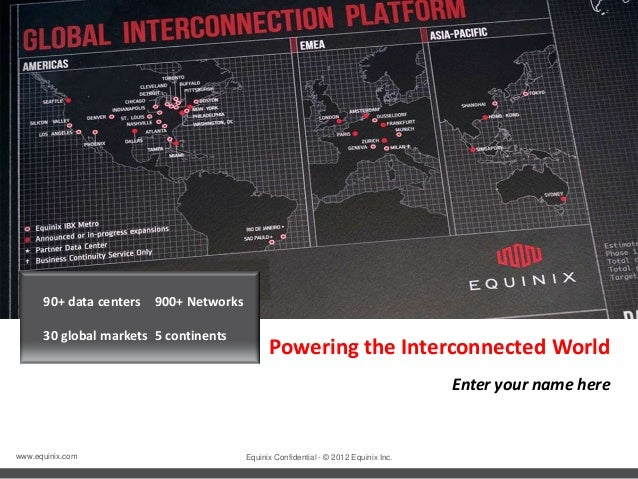 Equinix Partner Customer Presentation