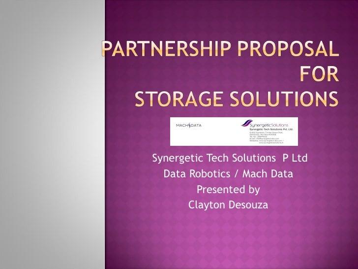 Partner reseller proposal ppt