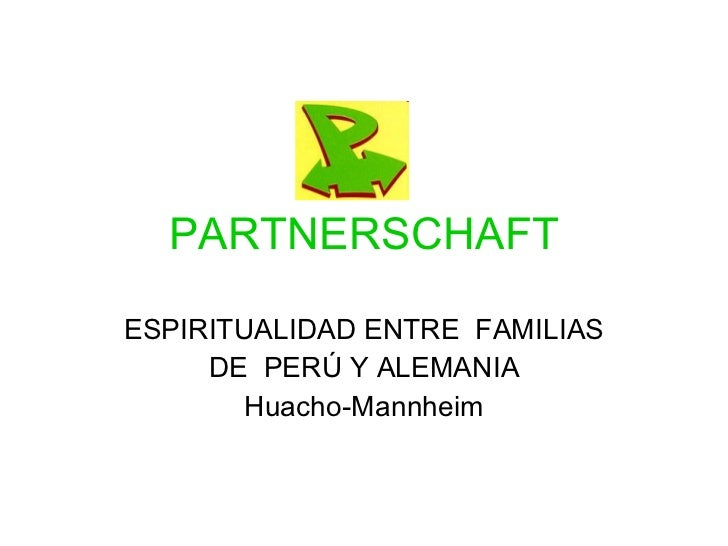 Partnerschaft Semana Familiar