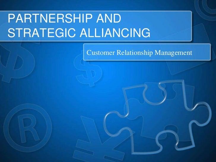 Partnership strategic-alliance