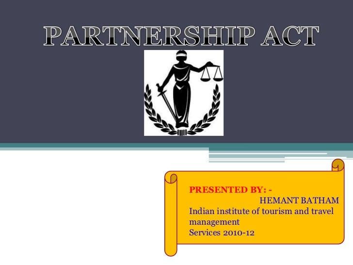 Partnership hemant 2