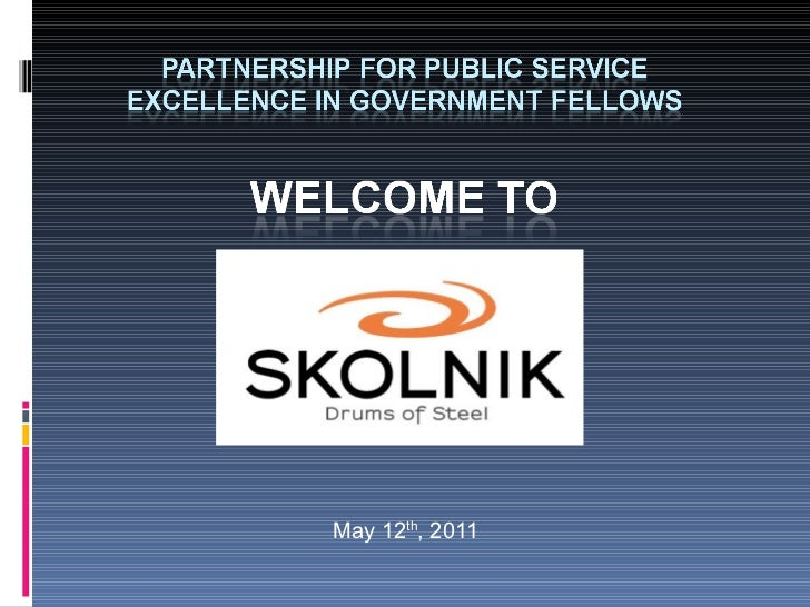 Partnership of Public Service with DOT