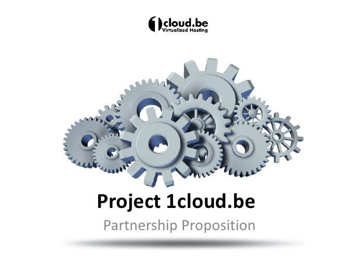 1Cloud Partnership Model