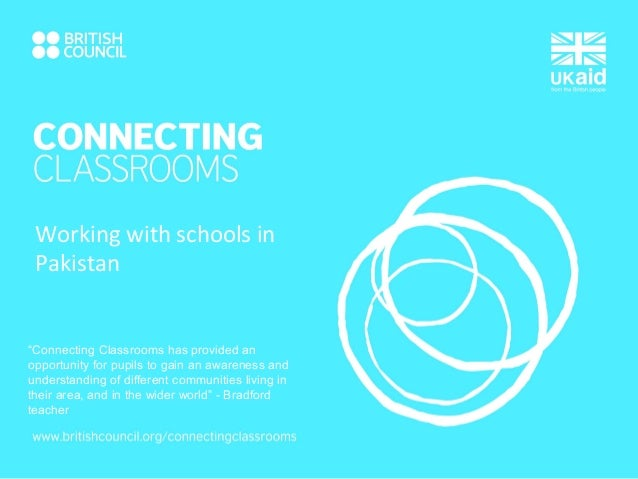 """""""Connecting Classrooms has provided an opportunity for pupils to gain an awareness and understanding of different communit..."""