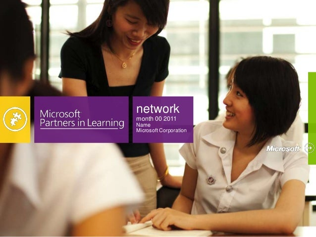 network month 00 2011 Name Microsoft Corporation