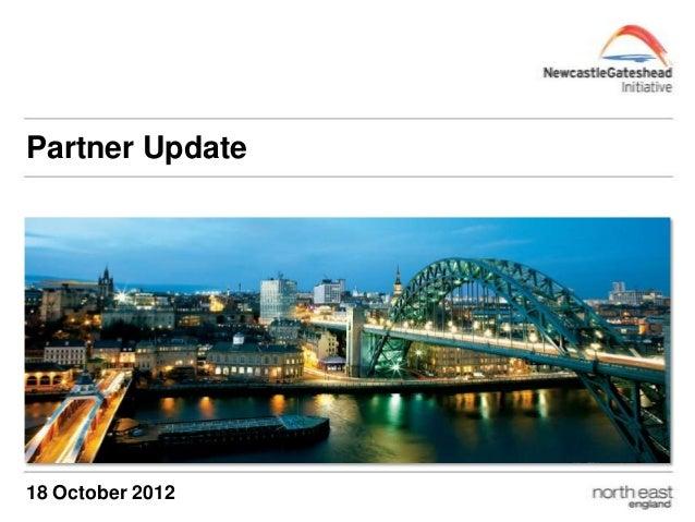 Partner Update 18 October 2012