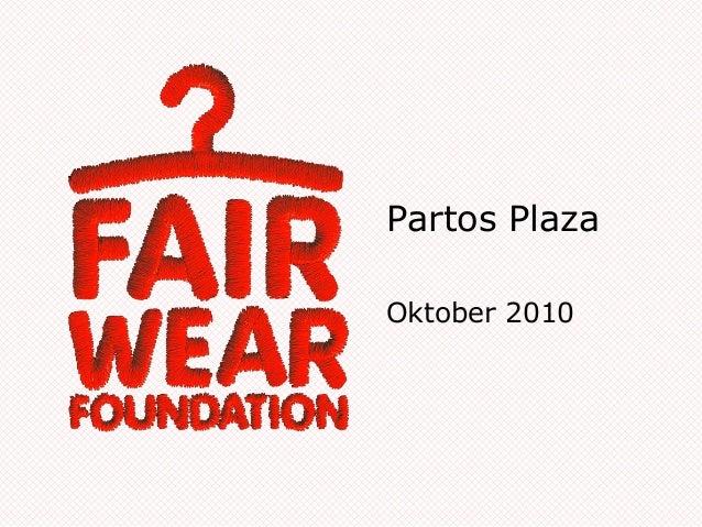 Partos Plaza Oktober 2010
