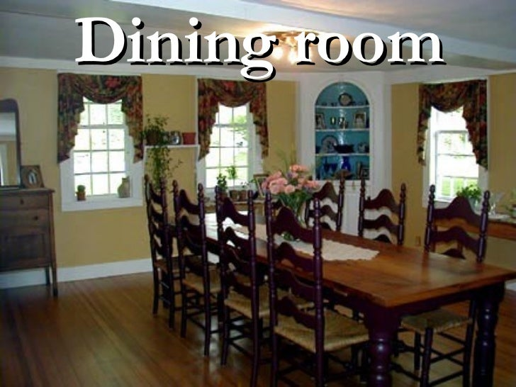 Different Types Of Dining Room