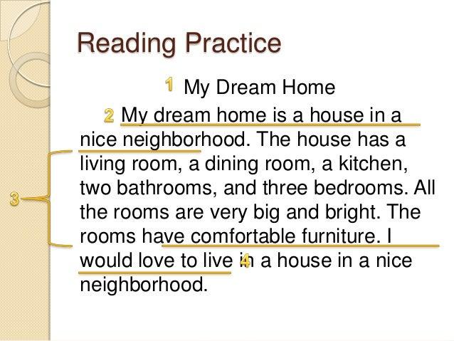 a dream paragraph writing