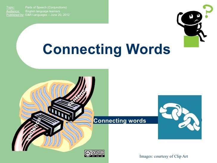 English Grammar: Parts of speech (conjunctions)