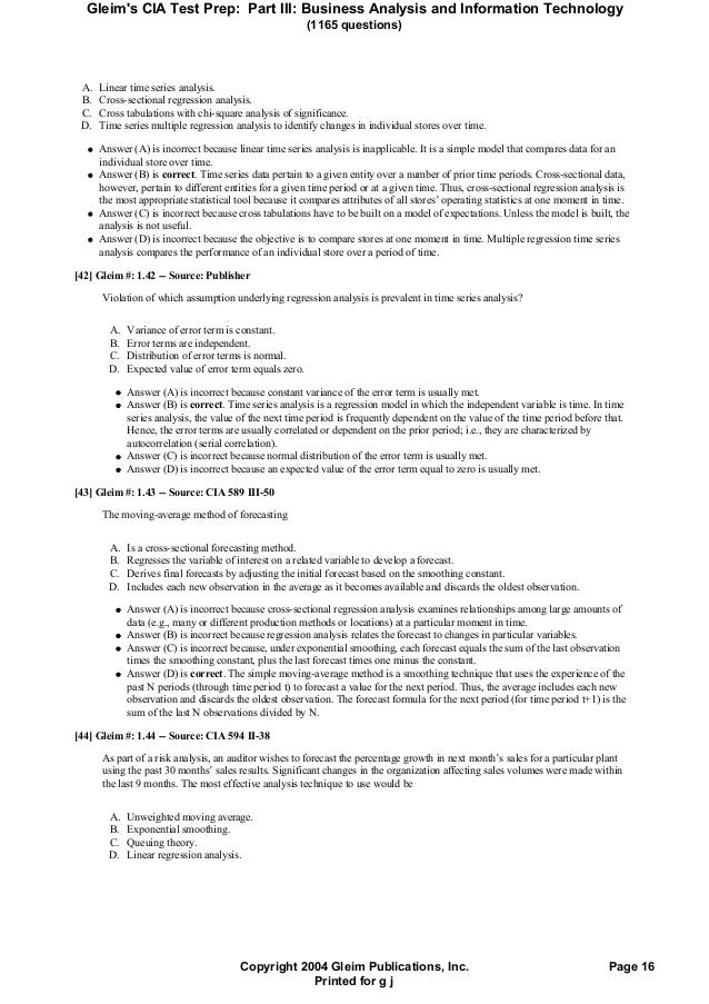 gleim 1 answers Read and download gleim cia 17th edition tests free ebooks in pdf format  english exam 1 answers american school expresate holt spanish 2.